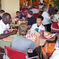 Alex Brown Eating With Campers!